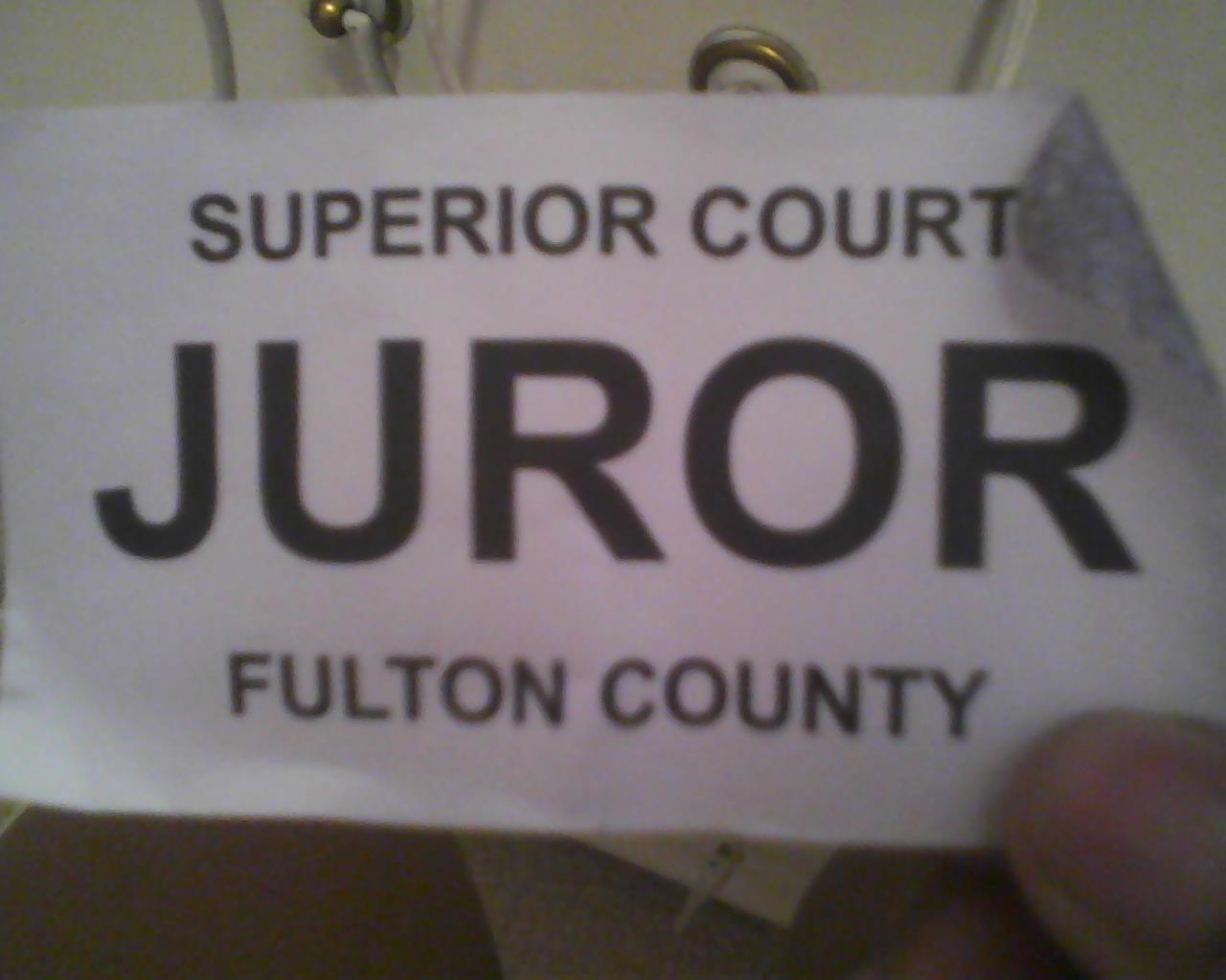 Jury Duty | Ruby Woo Blog